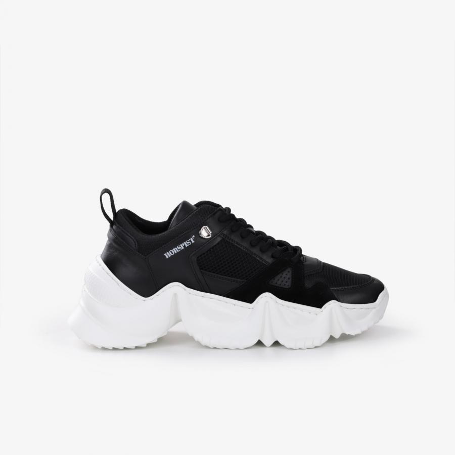 Sneakers Eiffel Noir & Blanc