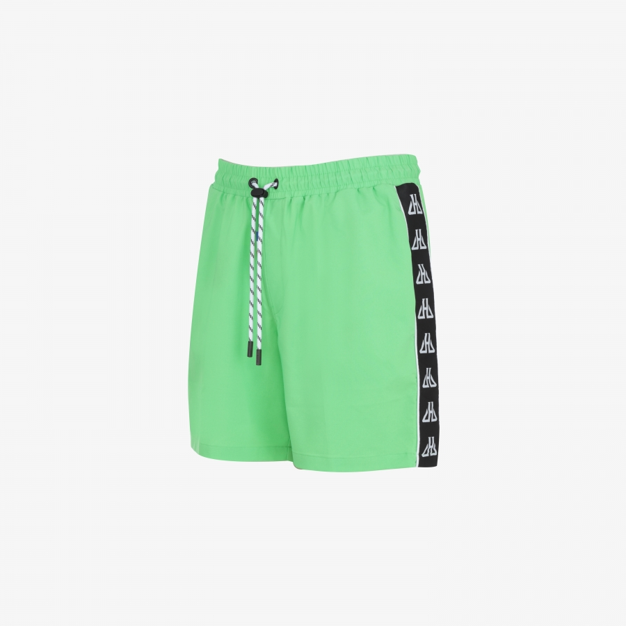 Short de plage Rasta Green