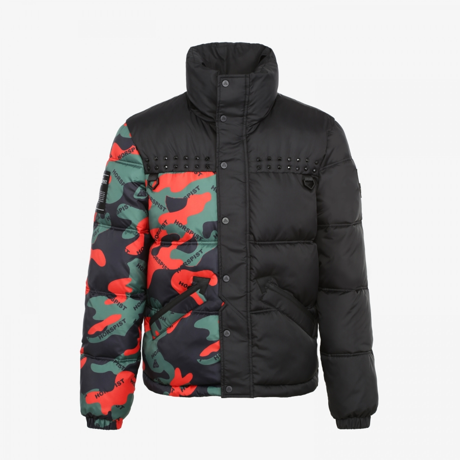 Down Jacket Memphis Camouflage
