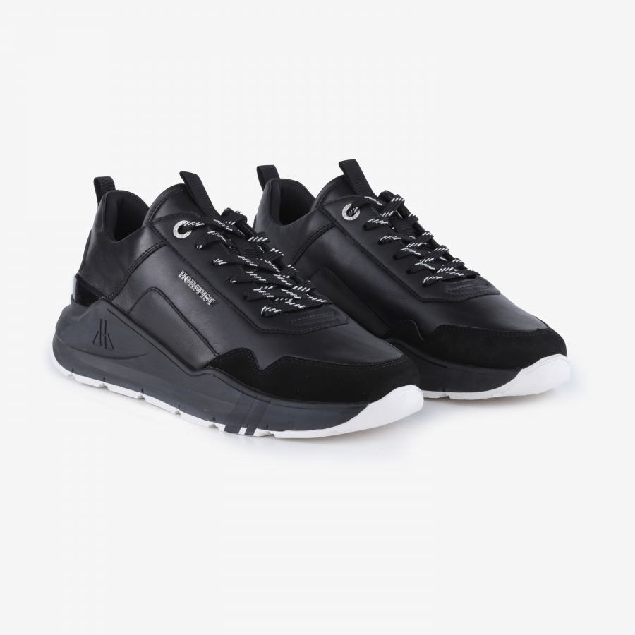 Sneakers Concorde Cuir Noir