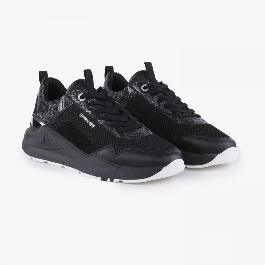 Sneakers Concorde Python Black
