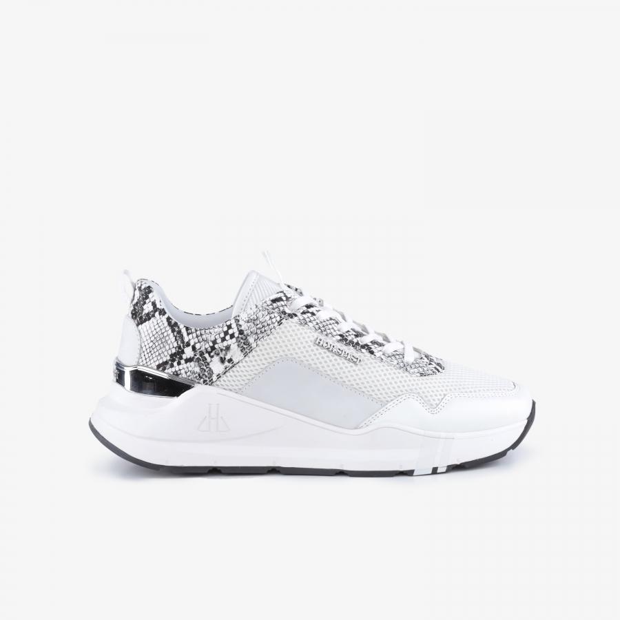 Sneakers Concorde Python White