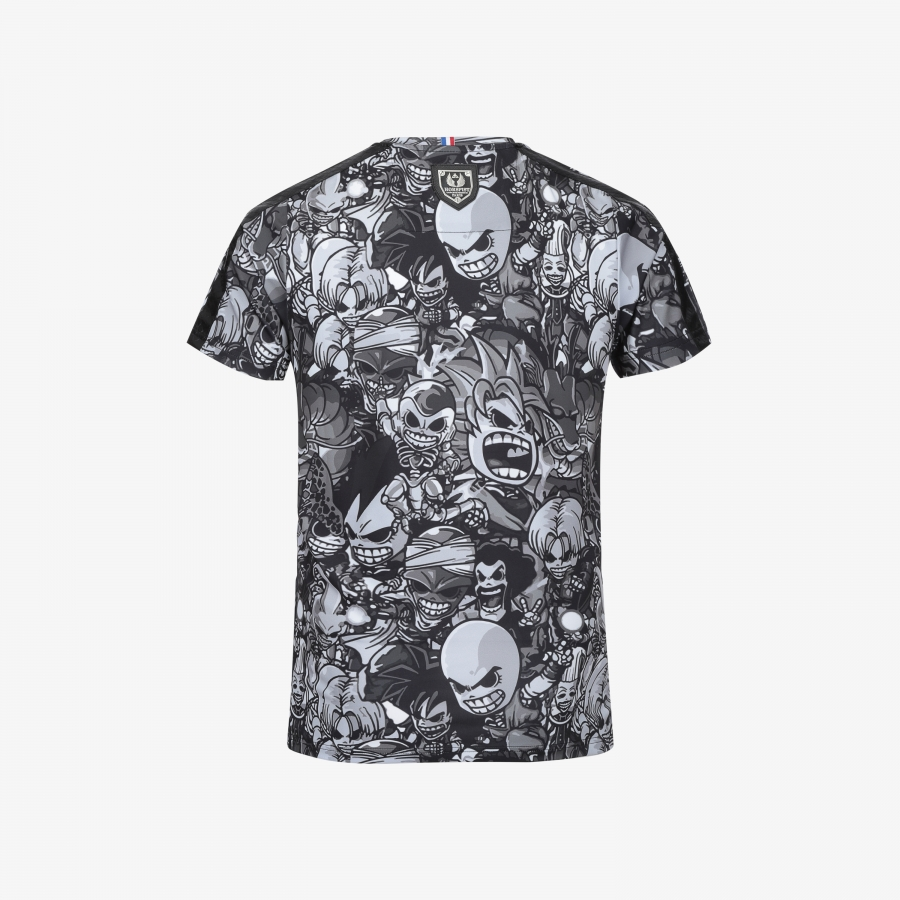 T-shirt Palm Black Manga