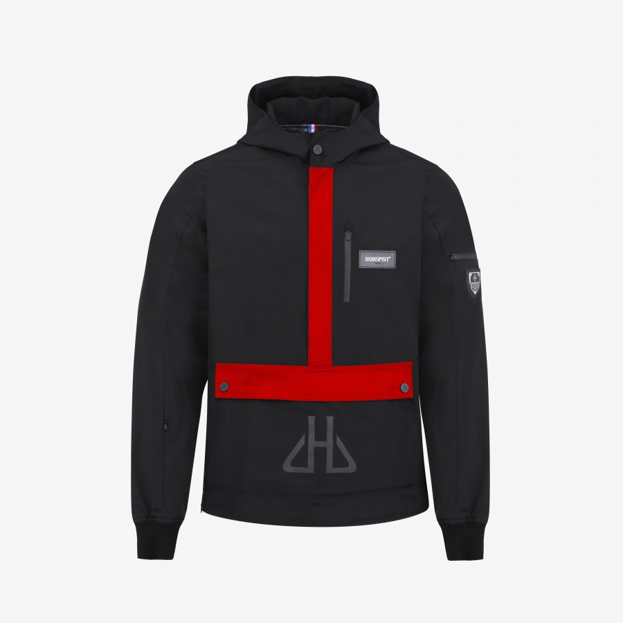 Windbreaker Kangourou Red