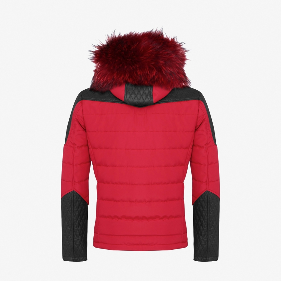 Down Jacket Carlton Red