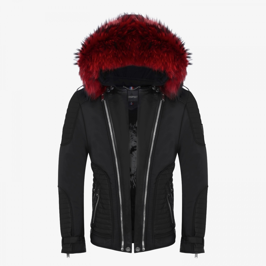 Down Jacket Vegas Suede Black