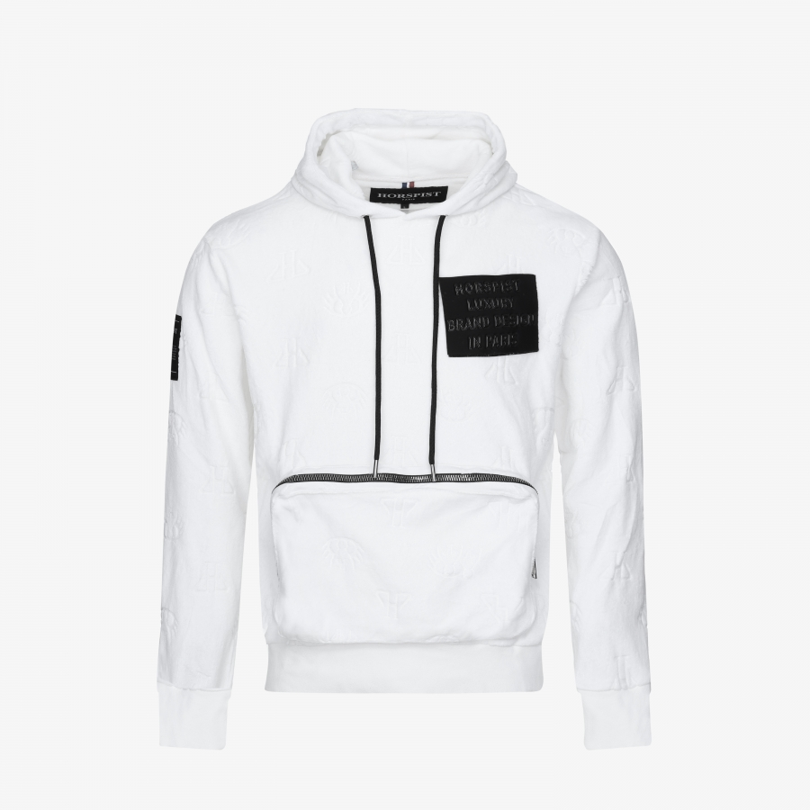 Sweat Dakota Velour Blanc