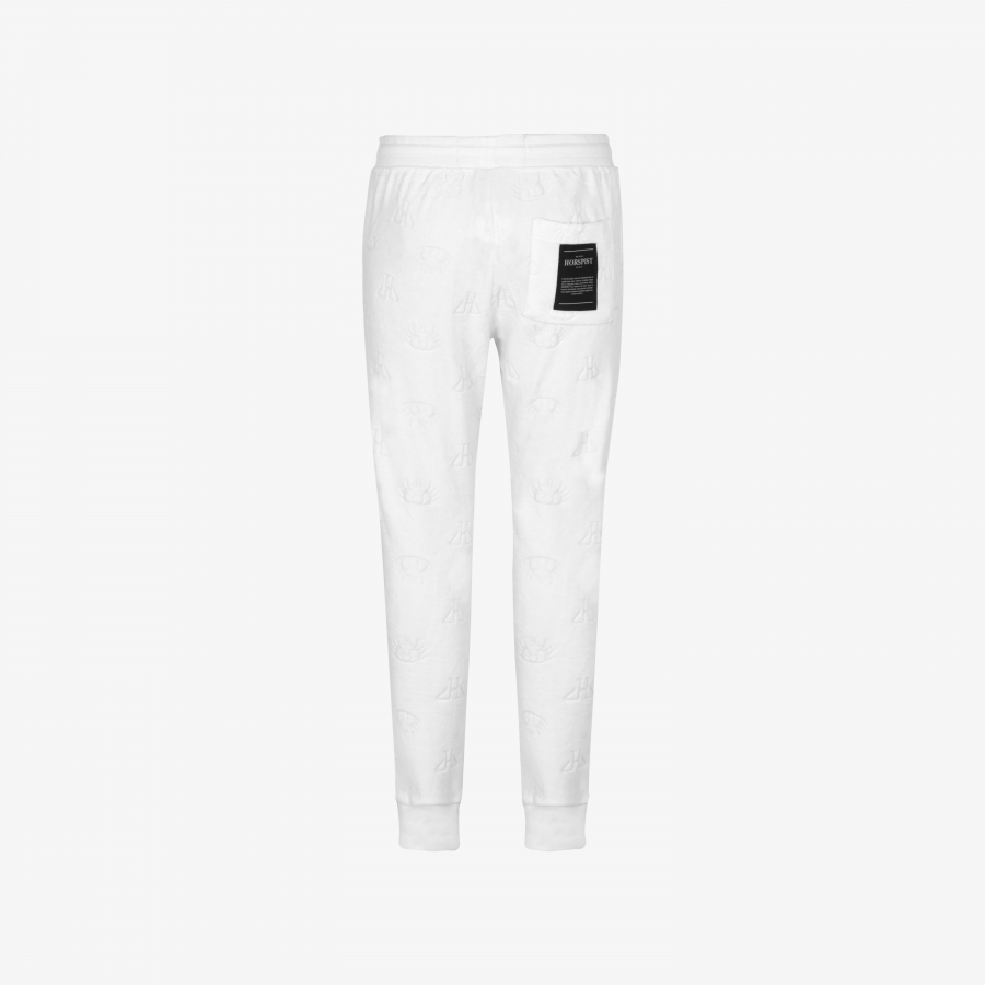 Jogging Clyde Velour Blanc