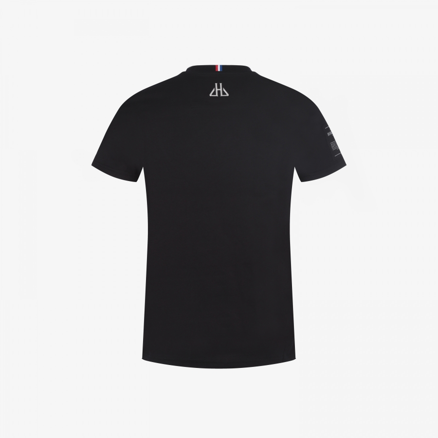 T-shirt Cognac Black