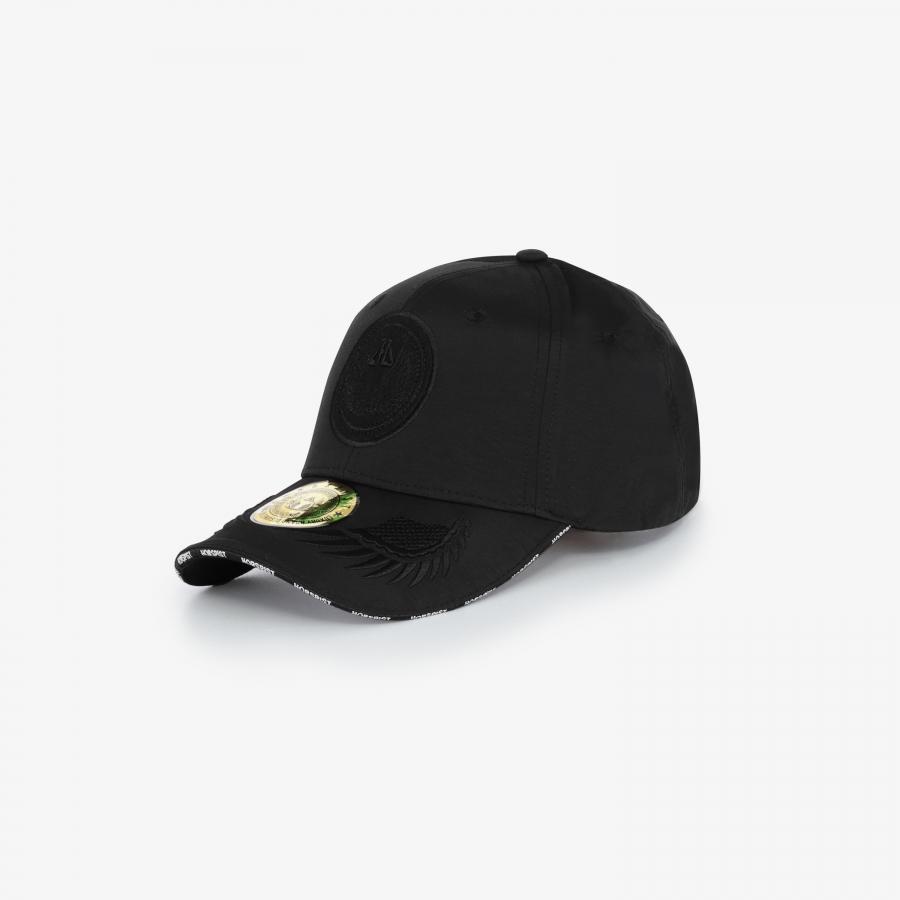 Casquette Mao Noir