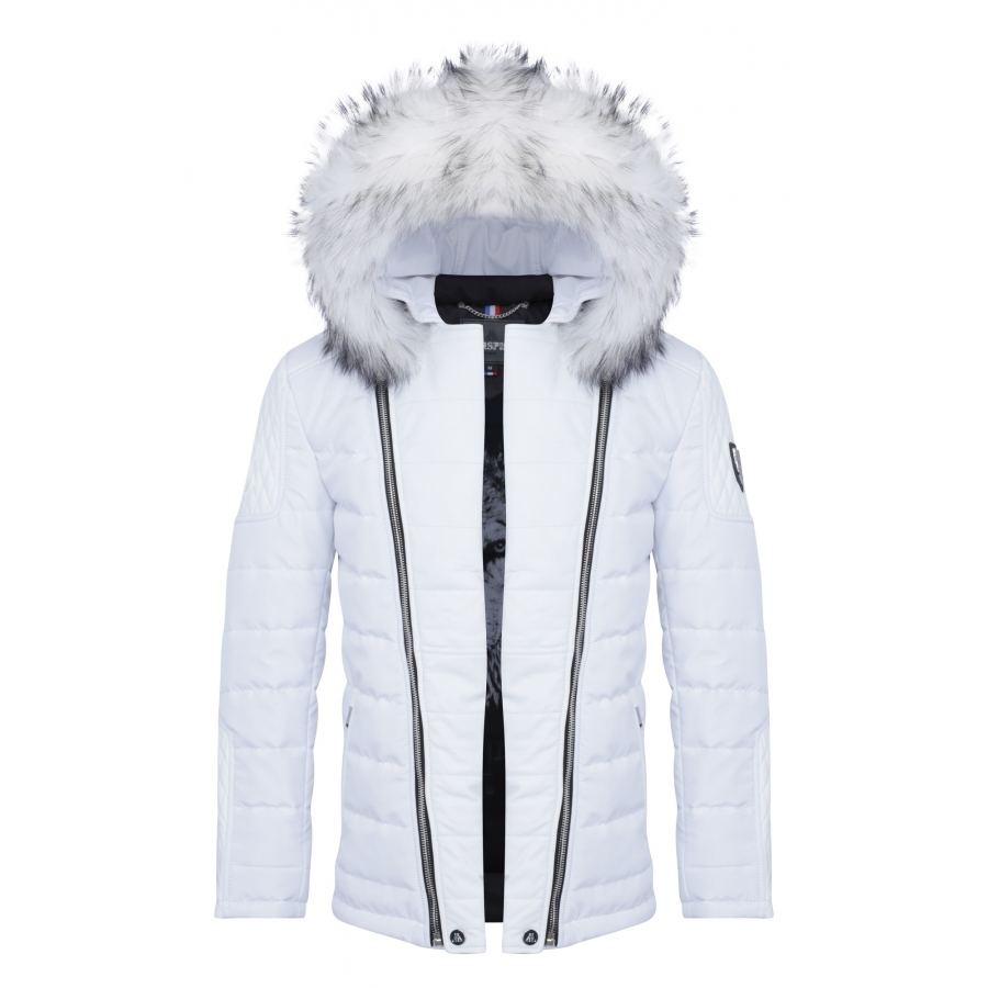 Down Jacket Carlton all White