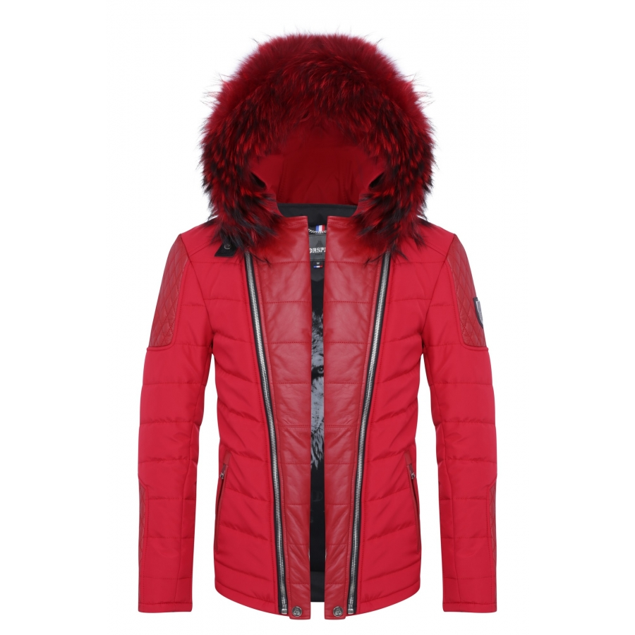 Down Jacket Carlton all Red