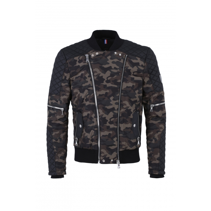 Jacket Versailles Padded Camouflage