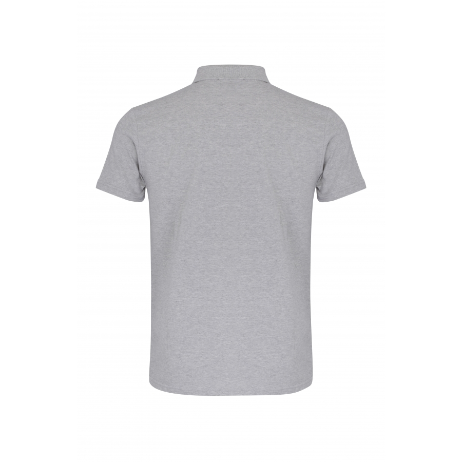 Polo Timeless Gris Blason Rouge