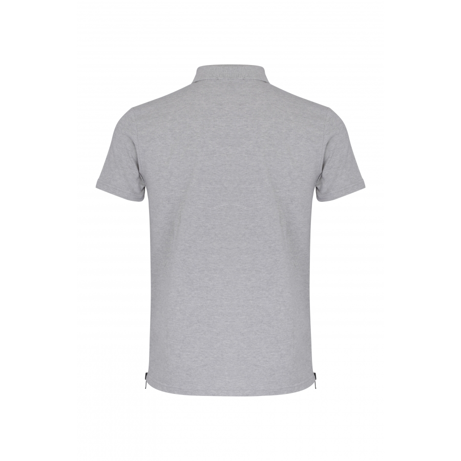 Polo Eclipse Gris Blason Rouge