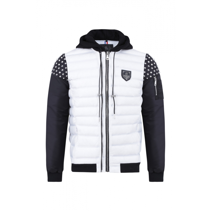 Jacket Powell Omega White