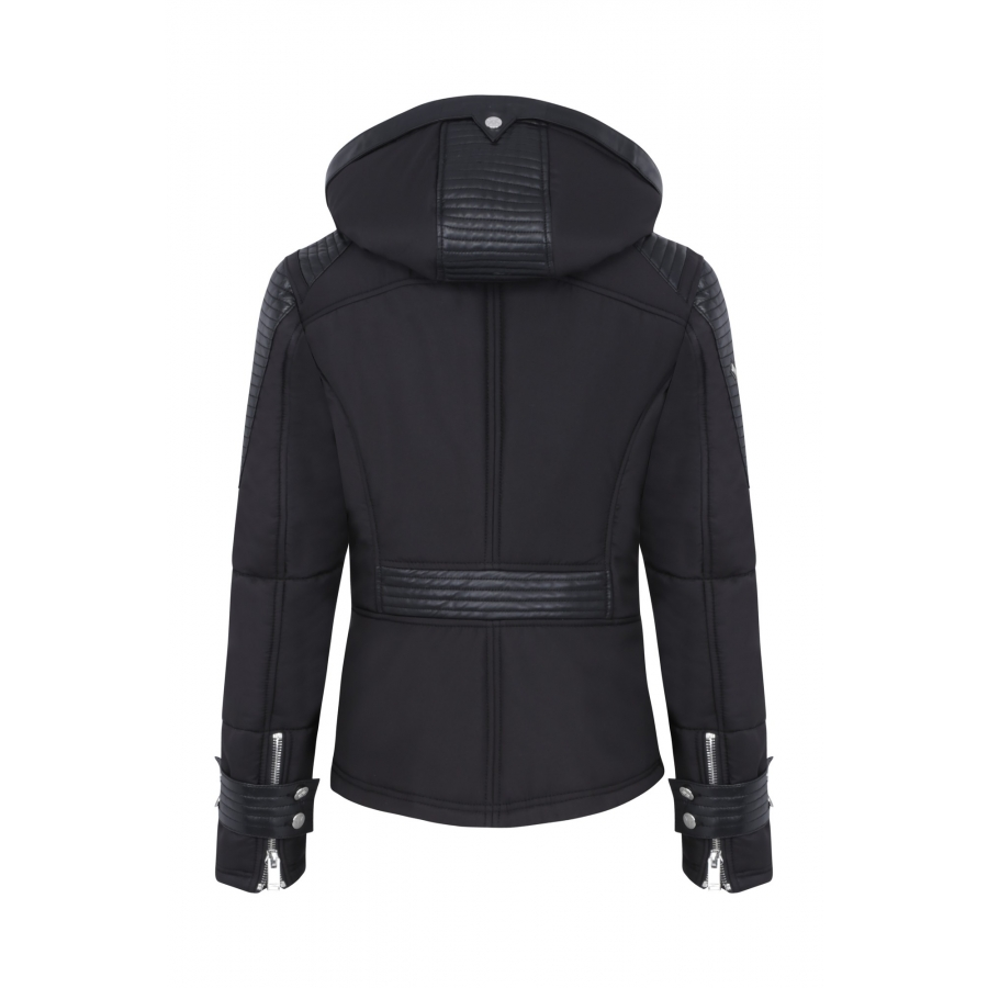 Down Jacket Milano Bis Black